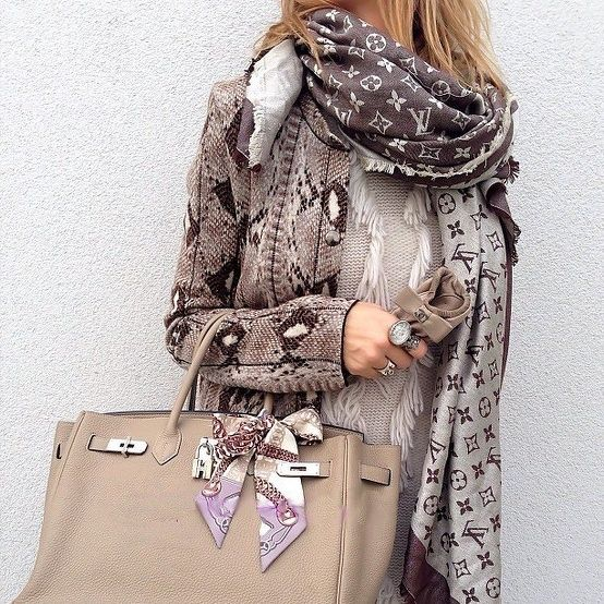 LV Scarf and Purse!