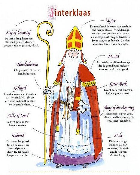 Alles wat je wilt weten over Sinterklaas. Door Natalie van der Horst