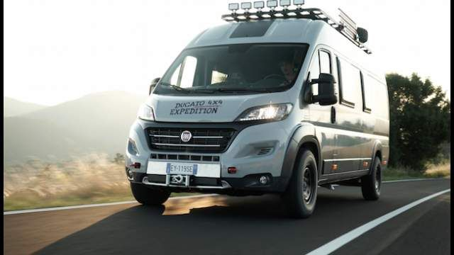 Ducato 4x4 Expedition. The Fiat Ducato 4x4 Expedition Show Camper Van ...