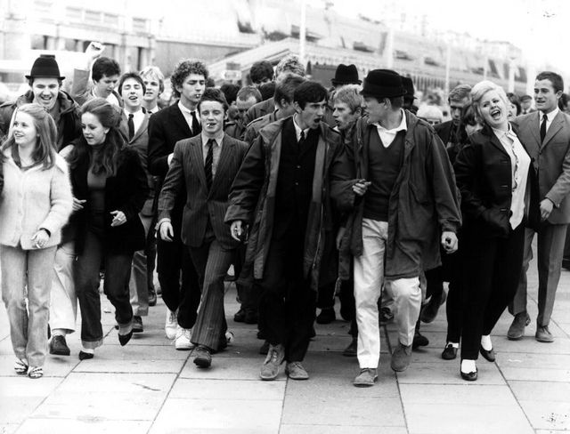 Youth Culture - Mods & Rockers 1960s - 1970s by brizzle born and bred, via Flickr