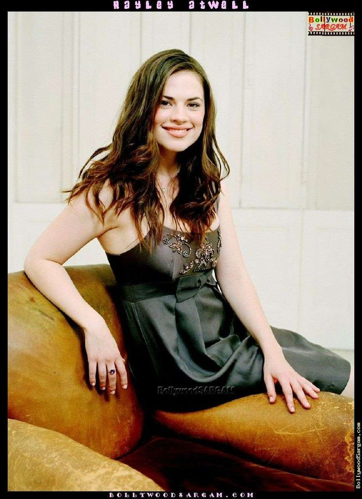 Hayley Atwell in Beaded Prom Dress