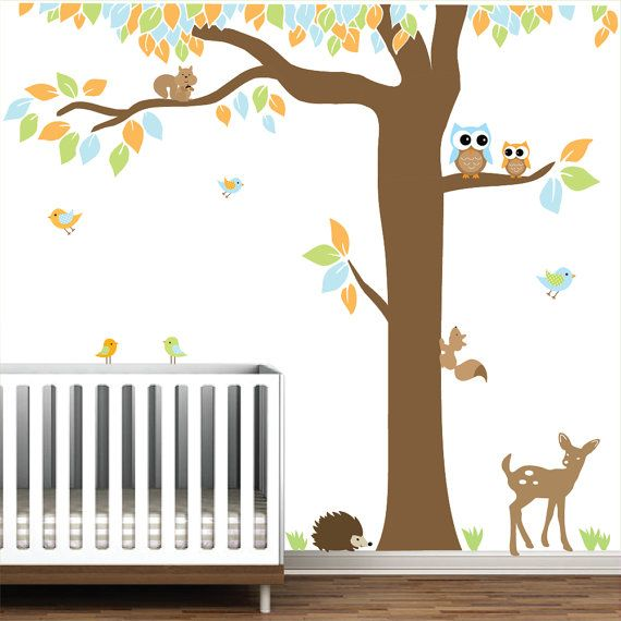 Vinyl Wall Decal Nursery Wall Vinyl-Forest with by Modernwalls