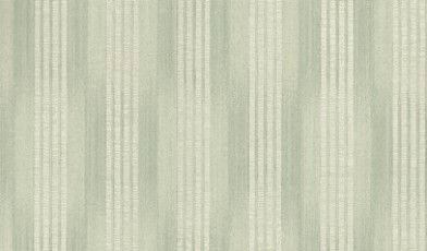 Lys Verdigris (310849) - Zoffany Wallpapers - Based on a French silk ikat design this subtle pattern has a stripe broken by horizontal bands. Shown in the green colourway. Please request sample for true colour match. Free pattern repeat.