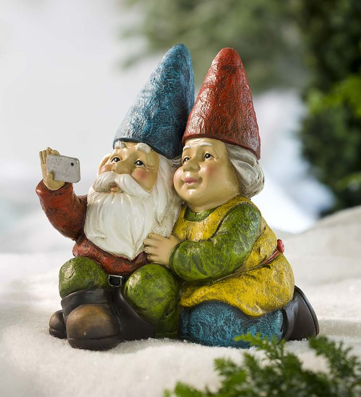 Selfie Gnome Statue | Garden Statues | This Selfie Gnome Statue Is An  Accent For All