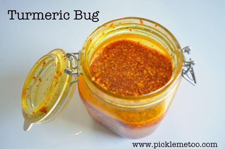 How to Make a Turmeric Bug and Turmeric Soda - Pickle Me Too