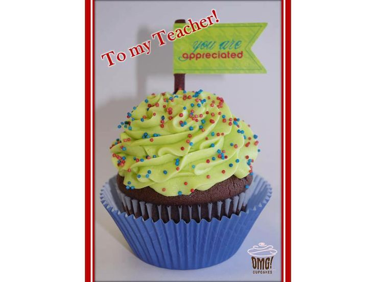 As the school year end approaches.... CELEBRATE and say THANK YOU to your teacher with treats from Omg! Cupcakes! Visit Omg! Cupcakes at www.facebook.com/OmgCupcakesGP