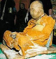 Corpo incorrupto. Dashi-Dorzho Itigilov foi um lama da tradição budista tibetana