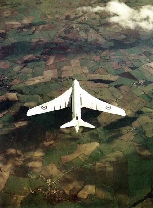 Handley Page Victor in anti-flash white