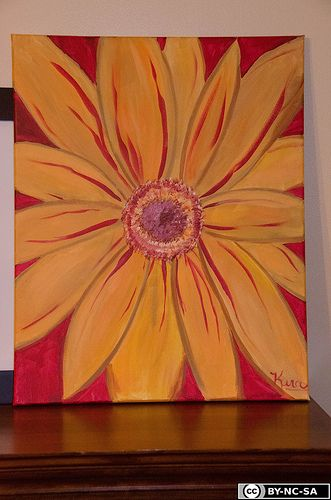 Easy+Canvas+Paintings+for+Beginners | we had to sit separately because of the way the
