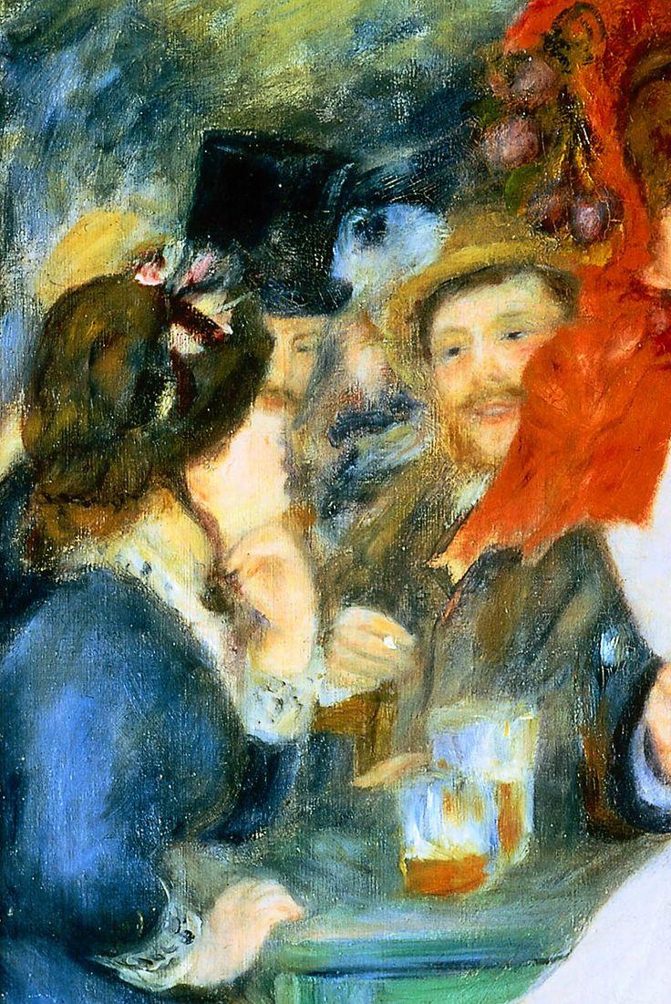 Pierre auguste renoir 1841 1919 dance a bougival dettaglio 1883