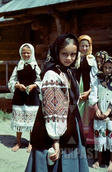 Подборка цветных фотографий, сделанная немцами в Украине в 1941-42 годах