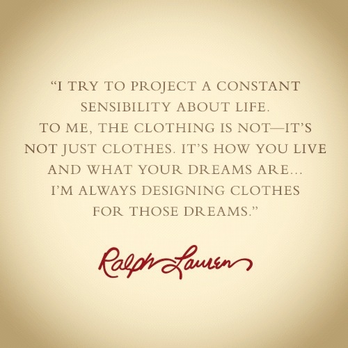 aa2911583 ... Just Living The Dream Quotes: Pin By Lauren L. Ralph On Ralph Lauren  Everything