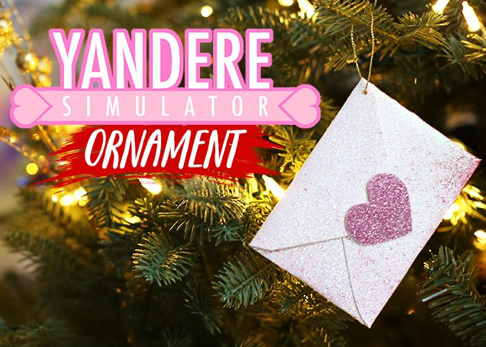 Yandere-ornament Would make a great #Valentines day gift too! So Cute