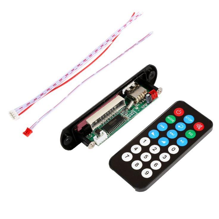 Hot DC 5V Micro USB Power Supply TF Radio MP3 Decoder Board 5V Audio Module for Car Remote Music Speaker