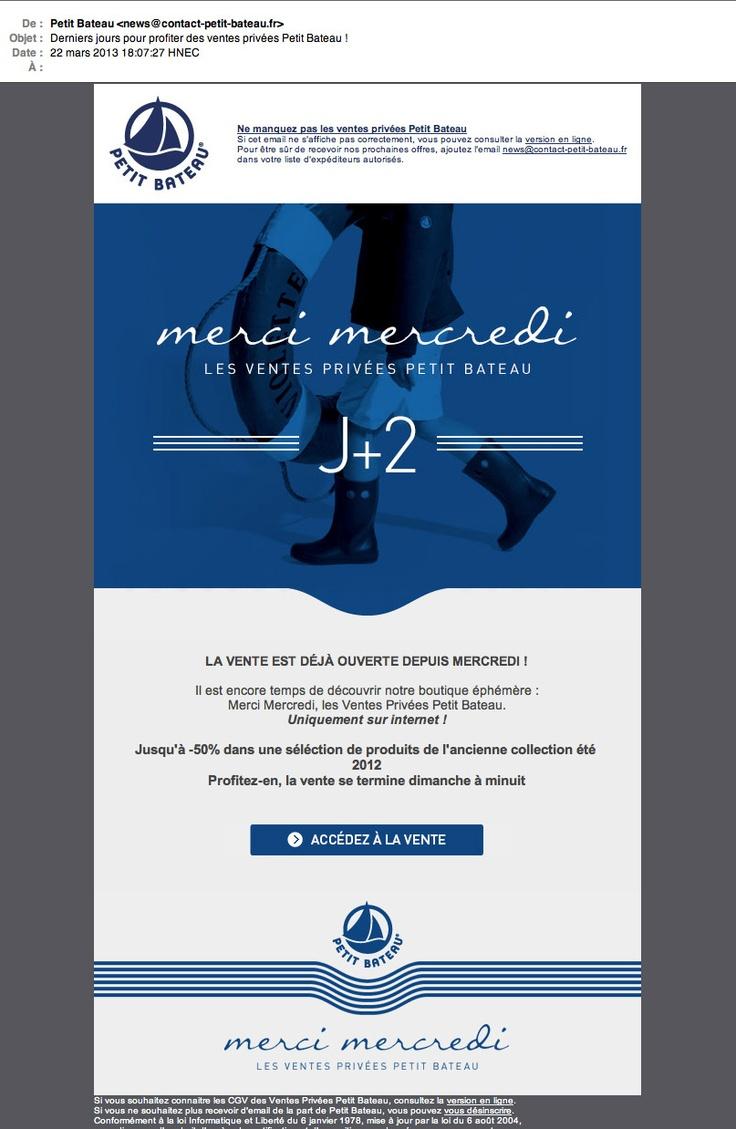 Merci Mercredi © Petit Bateau