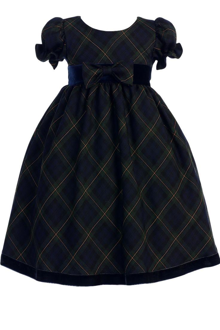 Girls Velvet Holiday Dresses
