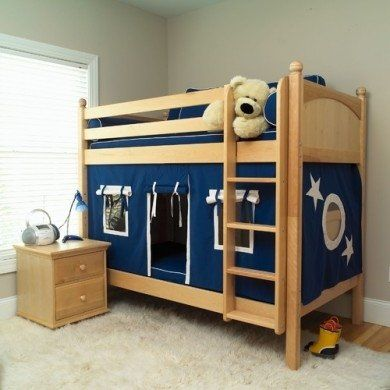 Bunk Bed With Bottom Tent