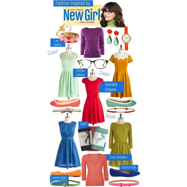 the new girl show fashion!
