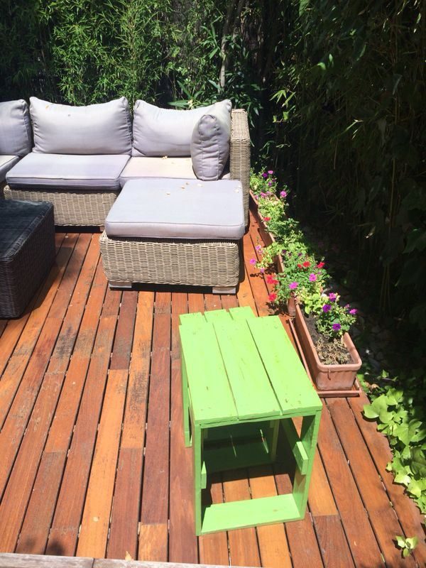 29 best images about muebles de atumadera on pinterest for Muebles terraza palets madera