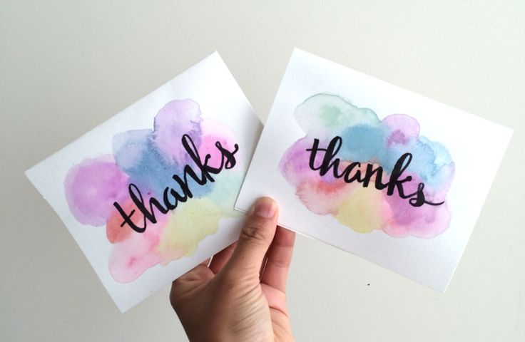 I had a bunch of thank you notes to write to various people, and wanted to send something that was a little more personal than your average card. Sometimes I paint or draw cards that are tailored to the recipient, like a bicycle for a Bike & Build friend, but those often take much longer and som