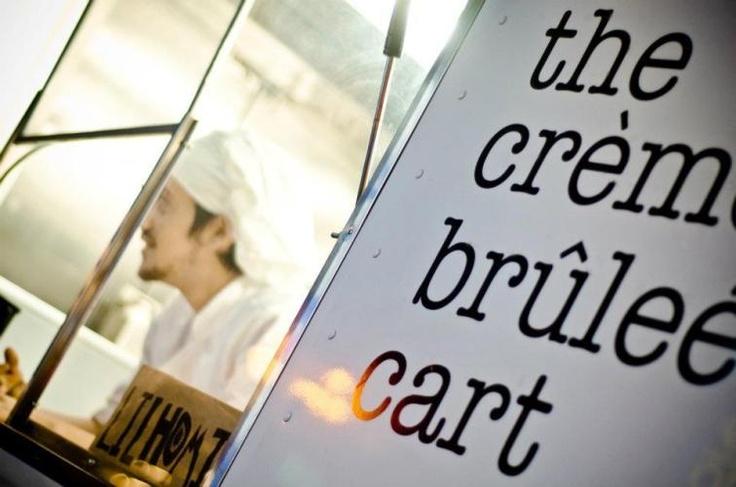 I will find you someday Creme Brulee Cart!