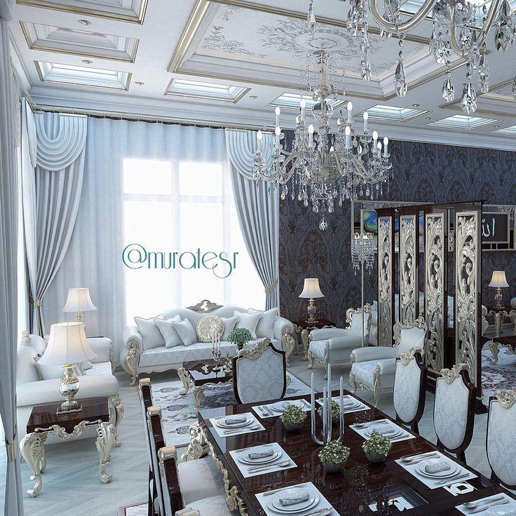 Luxury Rooms Luxury Dining Room Arabic Design