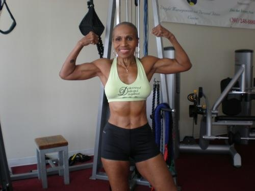 My new inspiration. Ernestine Shepherd. 75 year old. Started working out at the age of 60. Everything is possible!