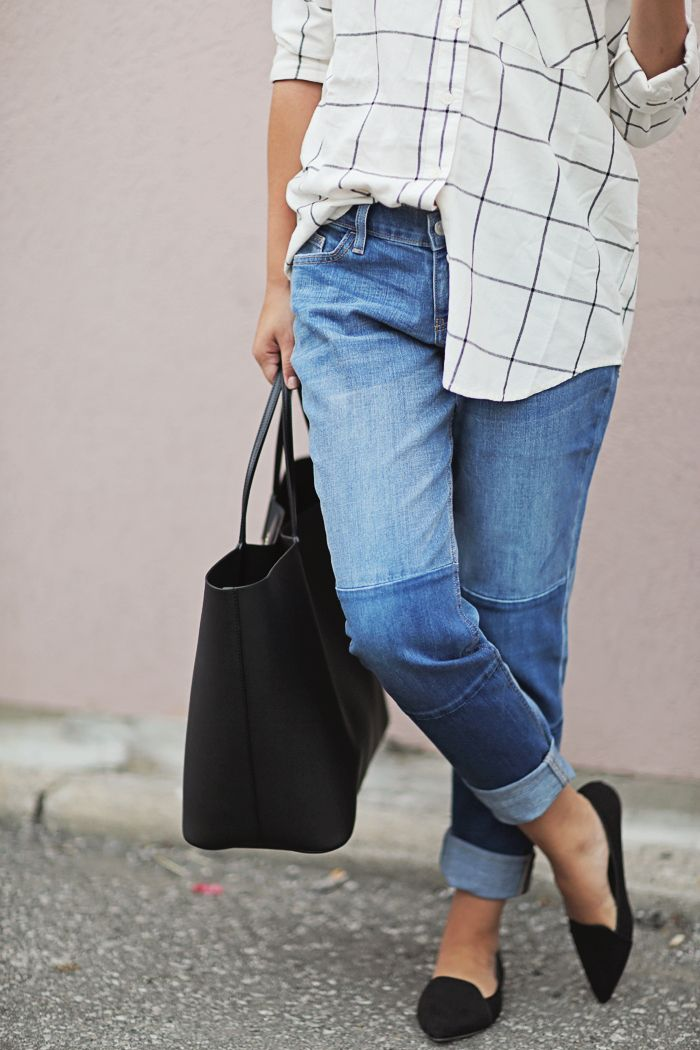 OLD NAVY BOYFRIEND JEANS - STEPHANIE STERJOVSKI