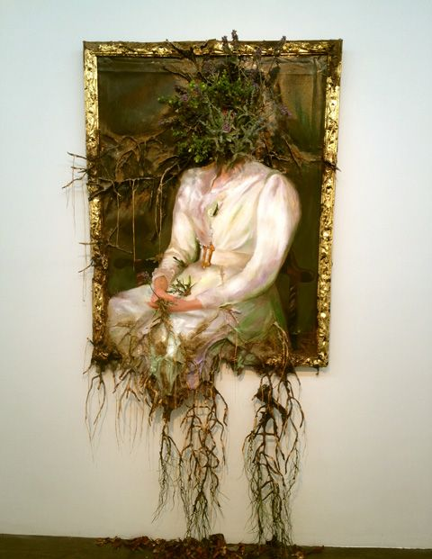 For Valerie Hegarty, the joy of her work lies in its destruction rather than its making.