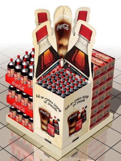 Image result for beverage retail displays