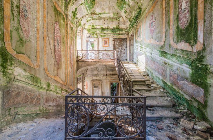 Deze man fotografeerde verlaten plekken in Europa en het is prachtig