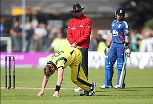 Australia struggled on Saturday up at Durham and they will be without Shane Watson and Brett Lee for the final game as both men are heading home with calf injuries...