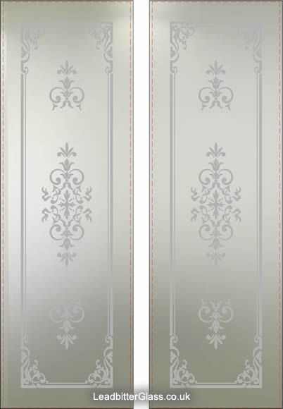 12 best beveled stain glass shower doors images on pinterest traditional door etching designs google search planetlyrics Image collections