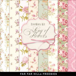 Nueva Freebies kit de papel -