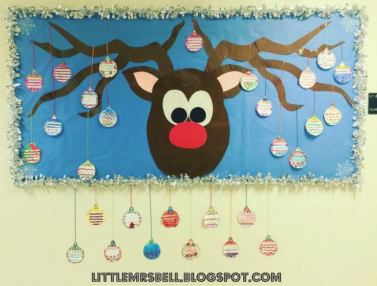 I love Christmas time with my firsties!     This is a bulletin board my mom did for 30 years and I plan to carry on the tradition. ...