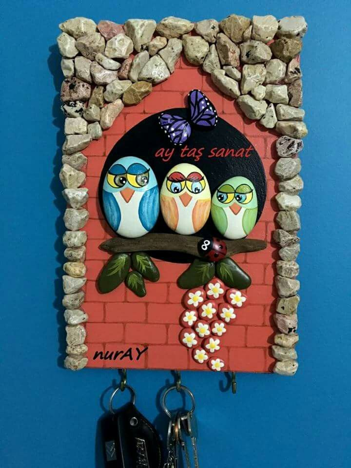 Easy Painting Rock Ideas and Stone art by @aytassanat