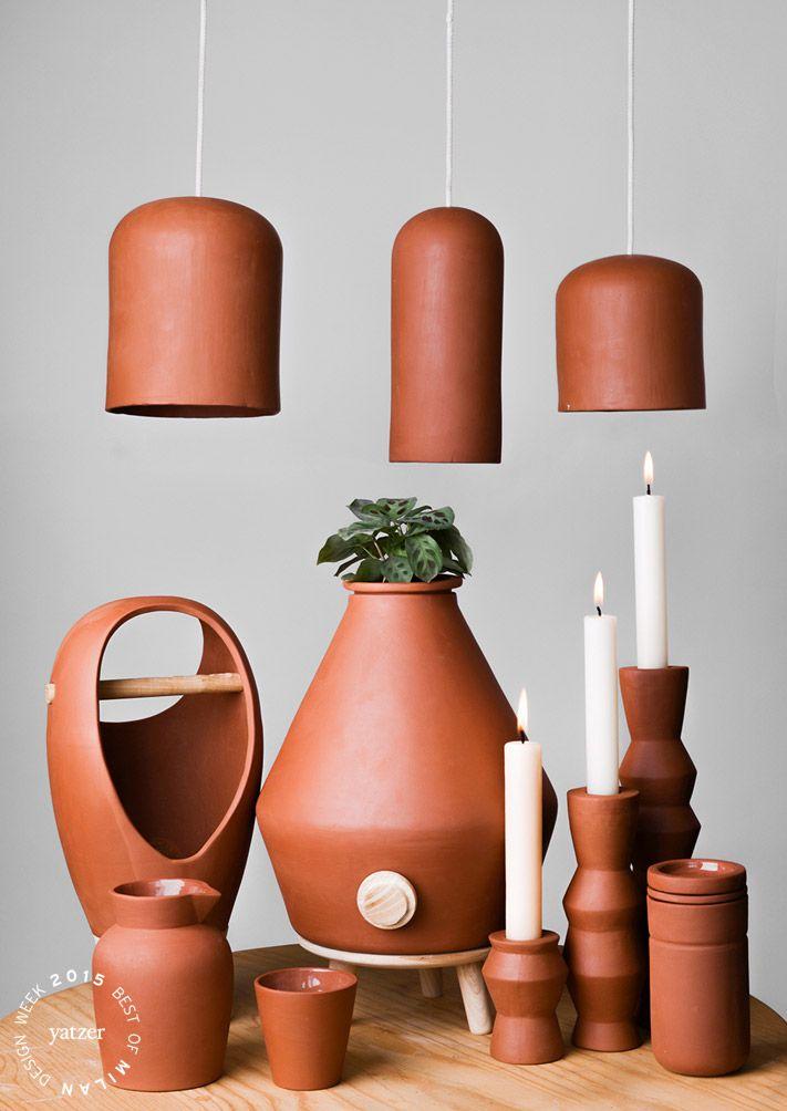 Corazón Moreno terracota collection by Rodrigo Noriega & Luis Vega (México…