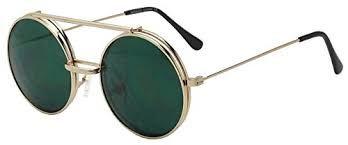 Hasil gambar untuk metal round flip sunglasses