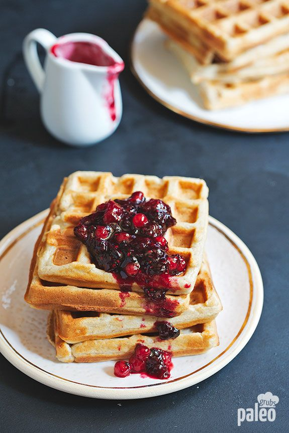 These are literally the best Belgian waffles I have ever had in my whole life! It is now nestled in my recipe hall of fame, along with all of my other favorite breakfast recipes.