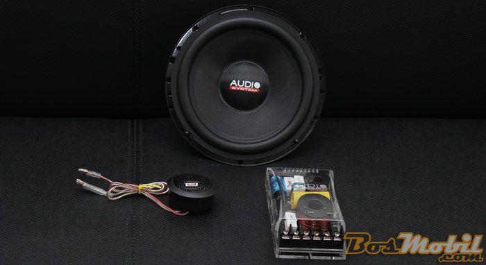 Speaker Audio System MX165 : Karakter Vocal Tebal