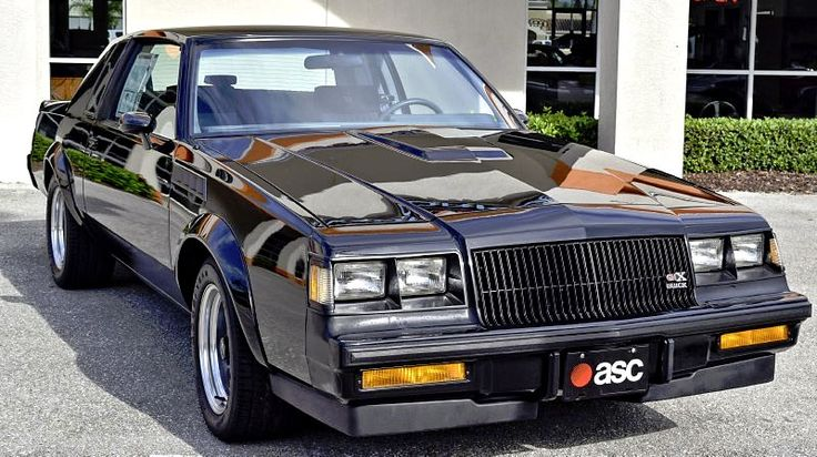 Pick Of The Day: 1987 Buick Grand National, GNX #227. Click to Find out more - http://fastmusclecar.com/best-muscle-cars/pick-of-the-day-1987-buick-grand-national-gnx-227/ COMMENT.