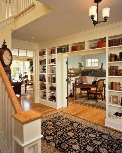 Dining room/hallway divide