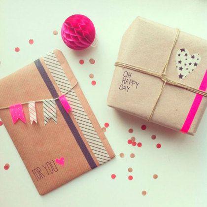 Inspiratie om cadeautjes op de leukste manier in te pakken