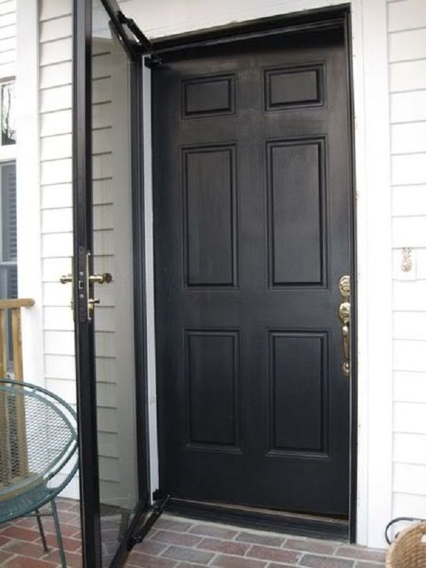 Black Storm Doors Door Designs Plans Door Design Plans