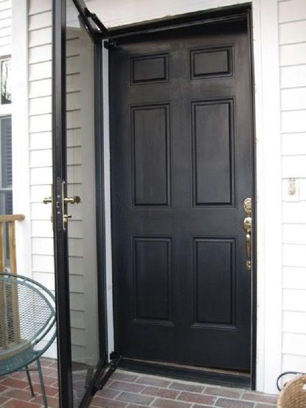 Black Storm Doors Door Designs Plans Door Design