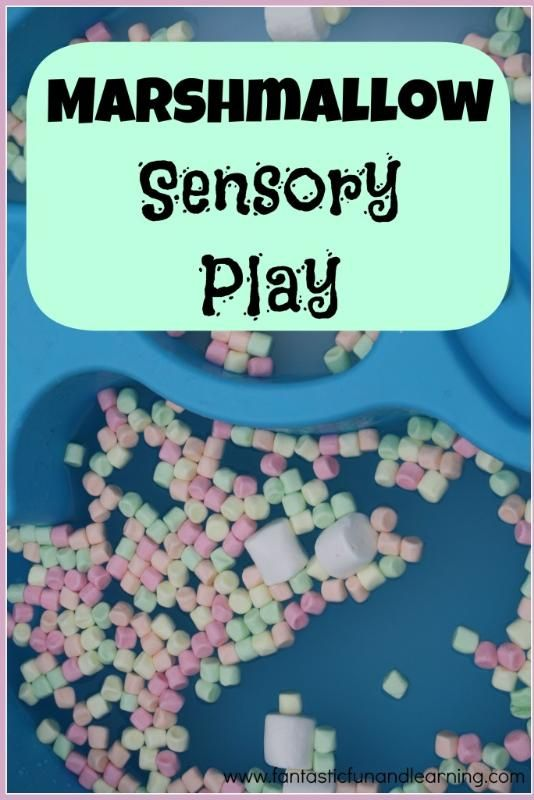 Marshmallow Sensory Play. In the water tray. Floating / sinking.