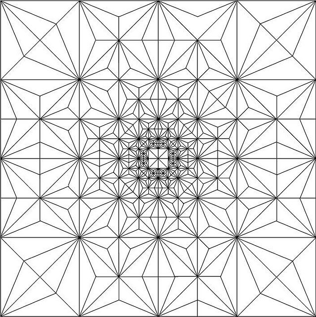 Fractal - imagine this as a quilt - AWESOME