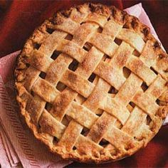 Old-Fashioned Lattice-Top Apple Pie