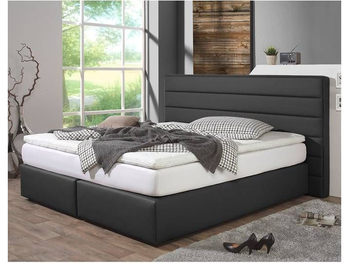 Boxspringbett Ingebo Kunstleder Home Decor Furniture Mattress