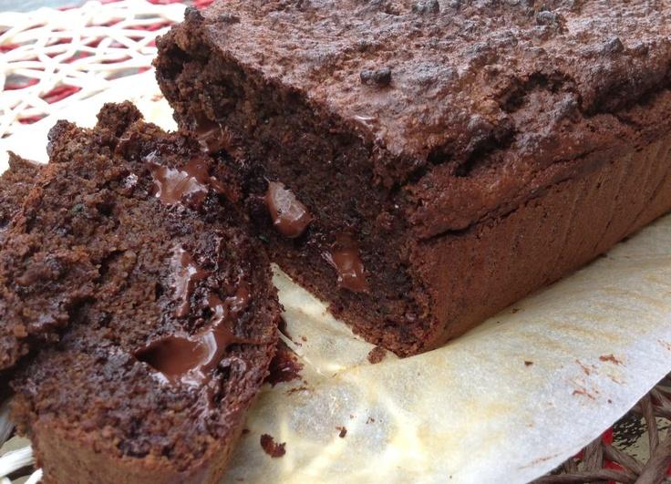 Gooey Dark Chocolate zucchini bread  @Tracy Curtis through my kitchen window- Paleo/Primal